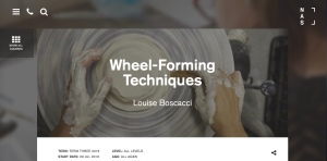 National Art School Public Programs Wheel-forming Techniques (Louise Boscacci)