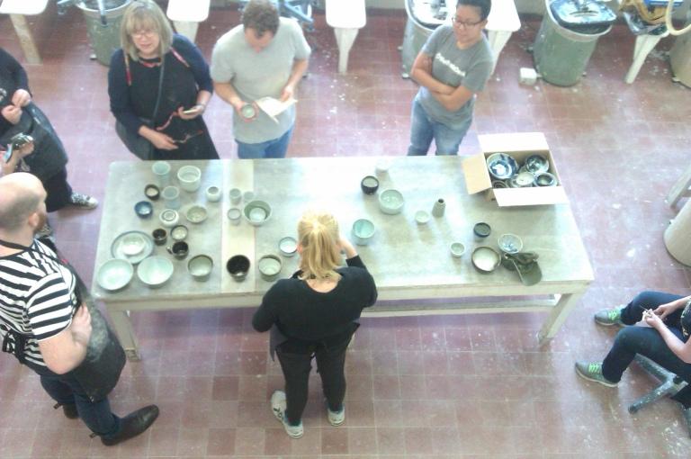 17 September 2016 National Art School ceramics Public Program